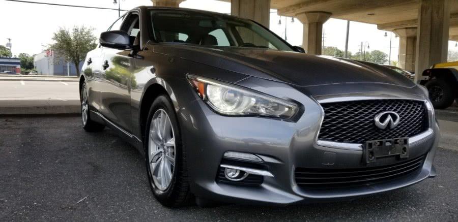 Used INFINITI Q50 4dr Sdn Premium AWD 2015 | Carmoney Auto Sales. Baldwin, New York
