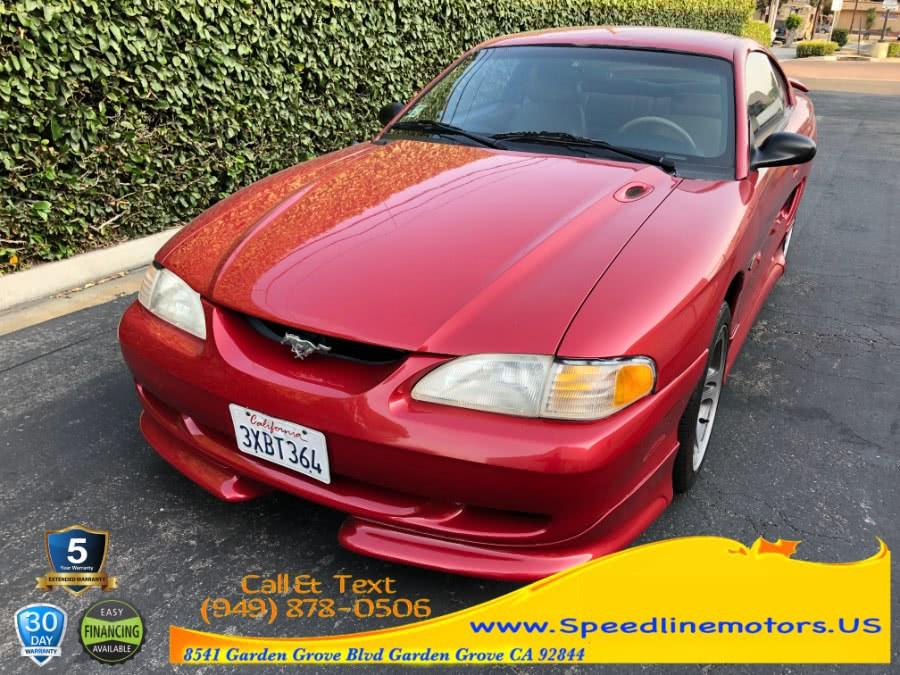 Used Ford Mustang 2dr Cpe GT 1997 | Speedline Motors. Garden Grove, California
