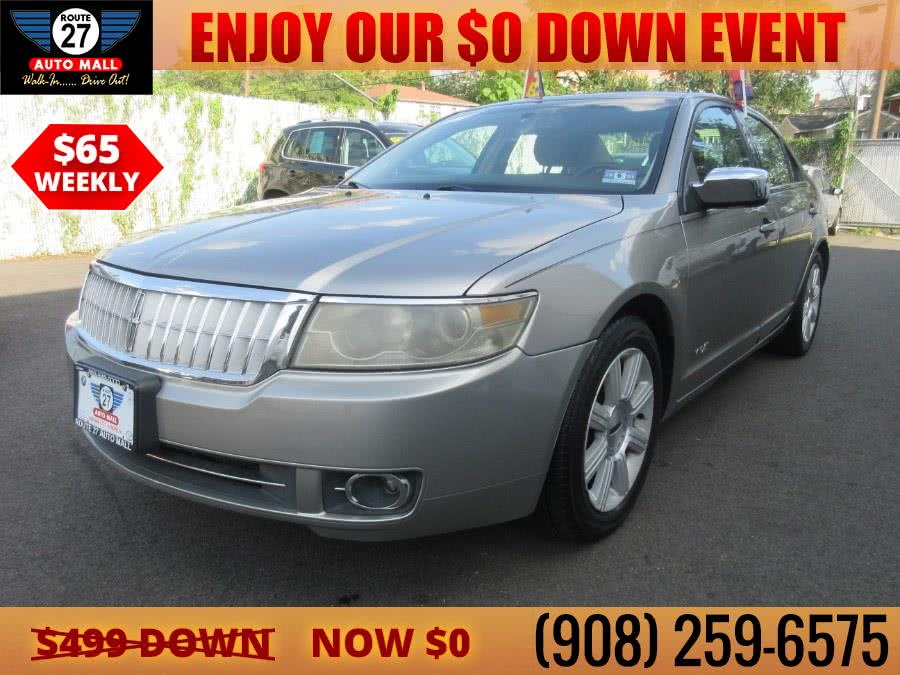 Used 2008 Lincoln MKZ in Linden, New Jersey   Route 27 Auto Mall. Linden, New Jersey