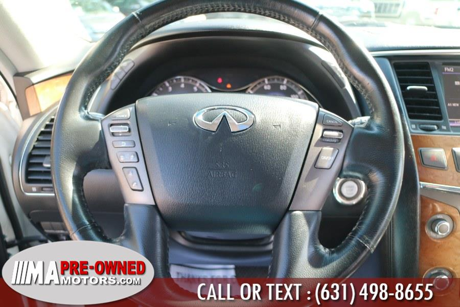 Used INFINITI QX56 4WD 4dr 8-passenger 2012 | M & A Motors. Huntington, New York