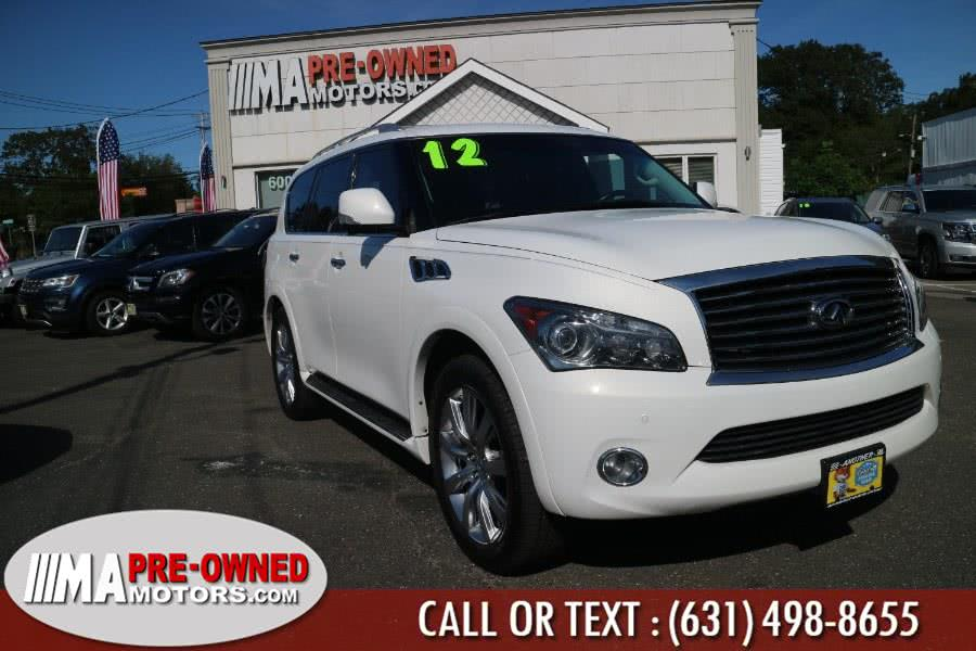 Used 2012 INFINITI QX56 in Huntington, New York | M & A Motors. Huntington, New York