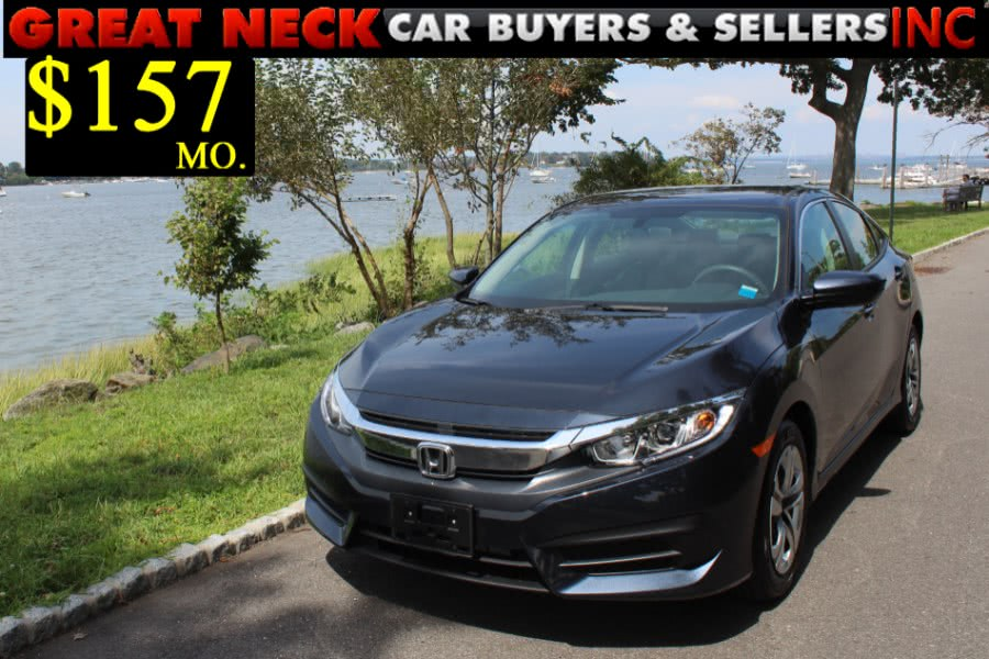 Used 2018 Honda Civic Sedan in Great Neck, New York