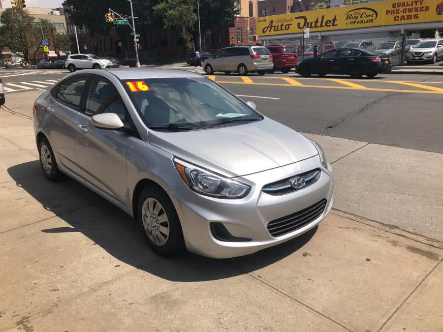 2016 Hyundai Accent 4dr Sdn, available for sale in Jamaica, NY