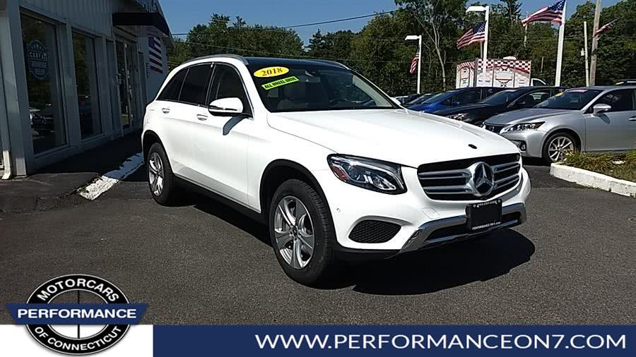 Used Mercedes-Benz GLC GLC 300 4MATIC SUV 2018 | Performance Motor Cars. Wilton, Connecticut