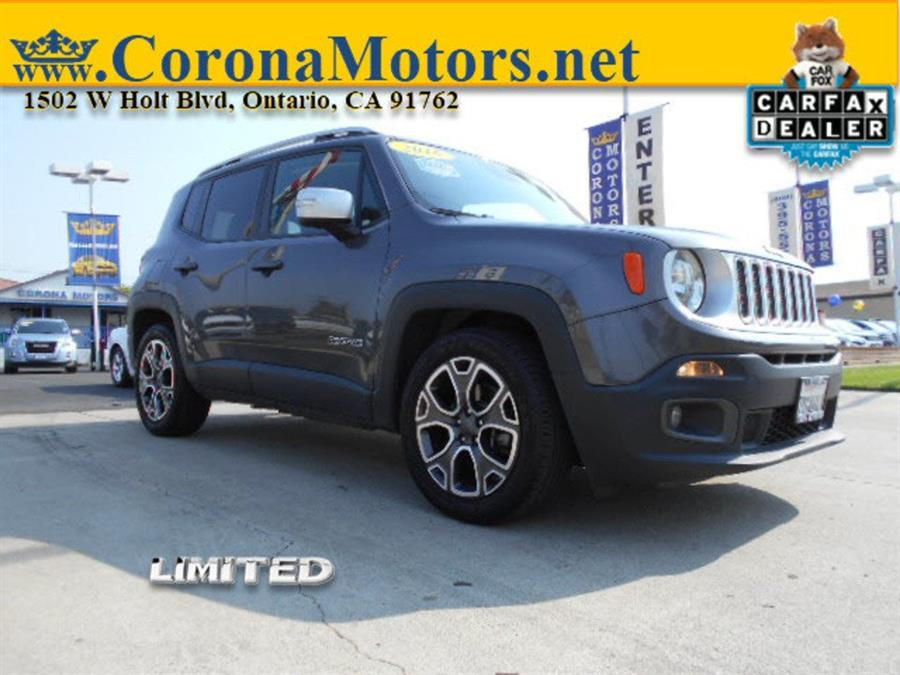 2016 Jeep Renegade Limited photo