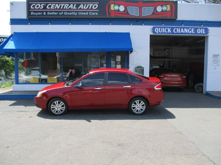 Used Ford Focus 4dr Sdn SEL 2010 | Cos Central Auto. Meriden, Connecticut