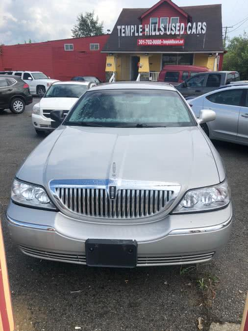 Used Lincoln Town Car 4dr Sdn Signature 2007 | Temple Hills Used Car. Temple Hills, Maryland