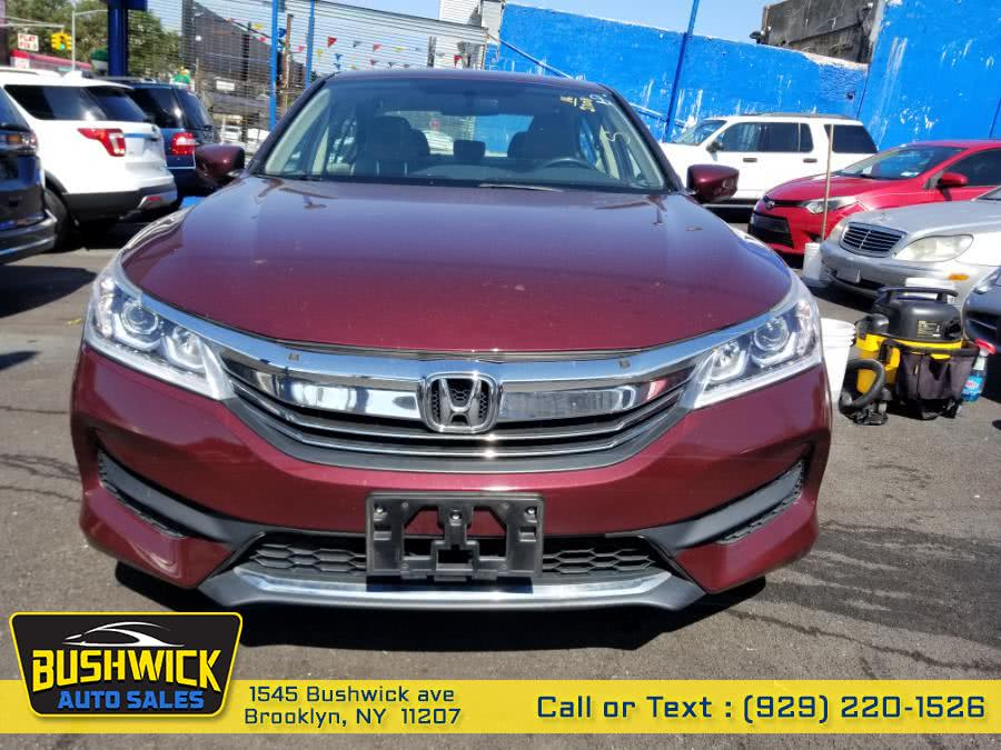 Used Honda Accord Sedan 4dr I4 CVT LX 2016 | Bushwick Auto Sales LLC. Brooklyn, New York