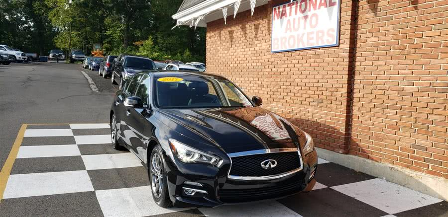 Used 2017 INFINITI Q50 Signature in Waterbury, Connecticut | National Auto Brokers, Inc.. Waterbury, Connecticut