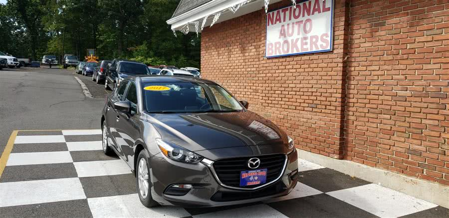 Used 2017 Mazda Mazda3 4-Door in Waterbury, Connecticut | National Auto Brokers, Inc.. Waterbury, Connecticut