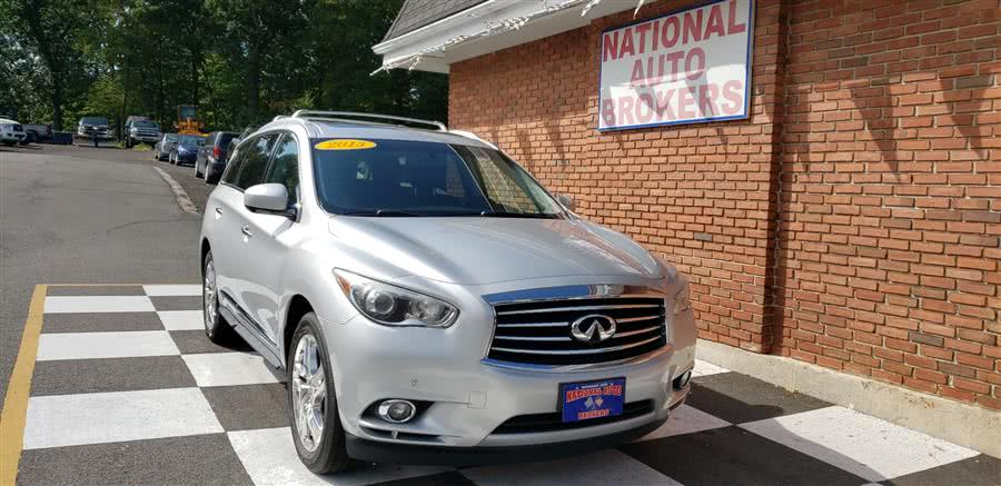 Used 2013 INFINITI JX35 in Waterbury, Connecticut | National Auto Brokers, Inc.. Waterbury, Connecticut