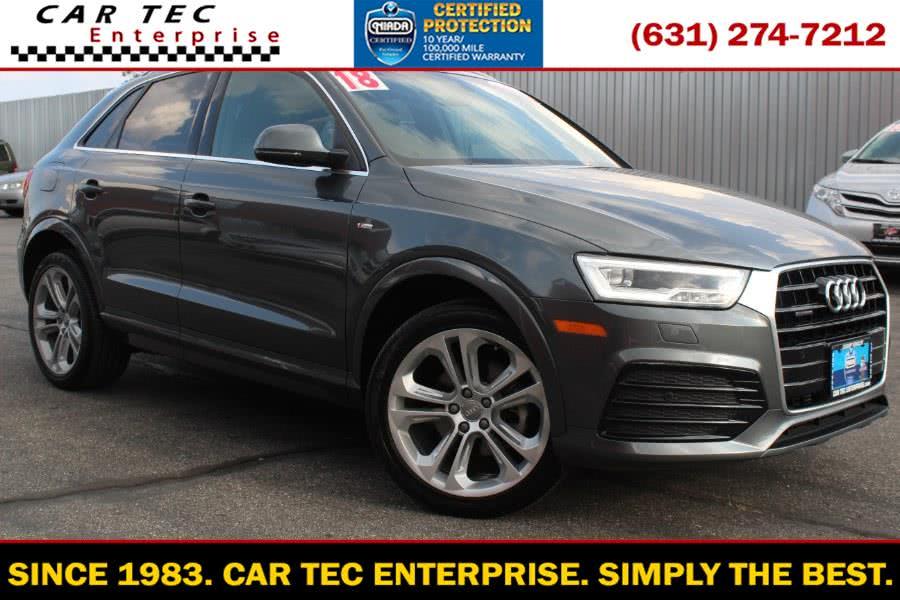 Used 2018 Audi Q3 in Deer Park, New York | Car Tec Enterprise Leasing & Sales LLC. Deer Park, New York