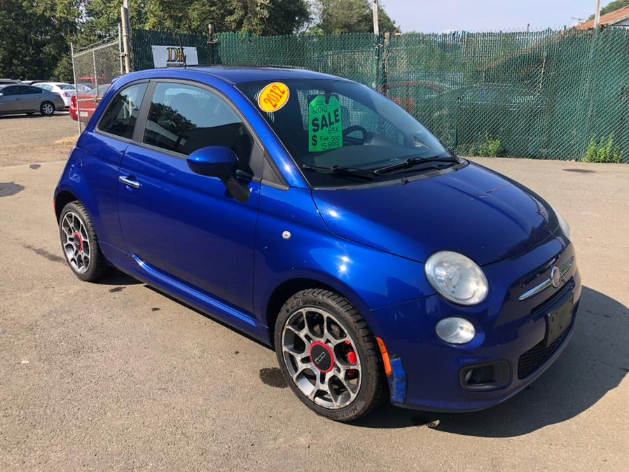 Used FIAT 500 2dr HB Sport 2012 | Cos Central Auto. Meriden, Connecticut