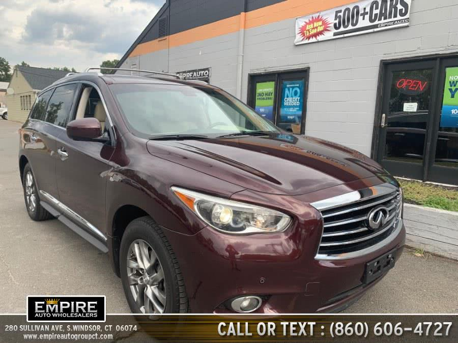 Used 2015 Infiniti QX60 in S.Windsor, Connecticut | Empire Auto Wholesalers. S.Windsor, Connecticut