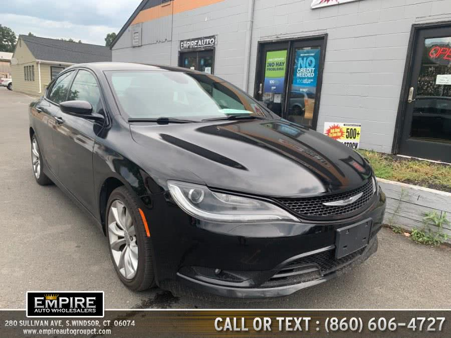Used 2015 Chrysler 200 in S.Windsor, Connecticut | Empire Auto Wholesalers. S.Windsor, Connecticut