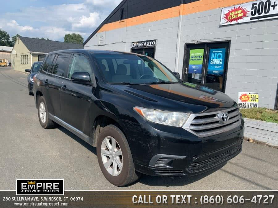 Used 2013 Toyota Highlander in S.Windsor, Connecticut | Empire Auto Wholesalers. S.Windsor, Connecticut