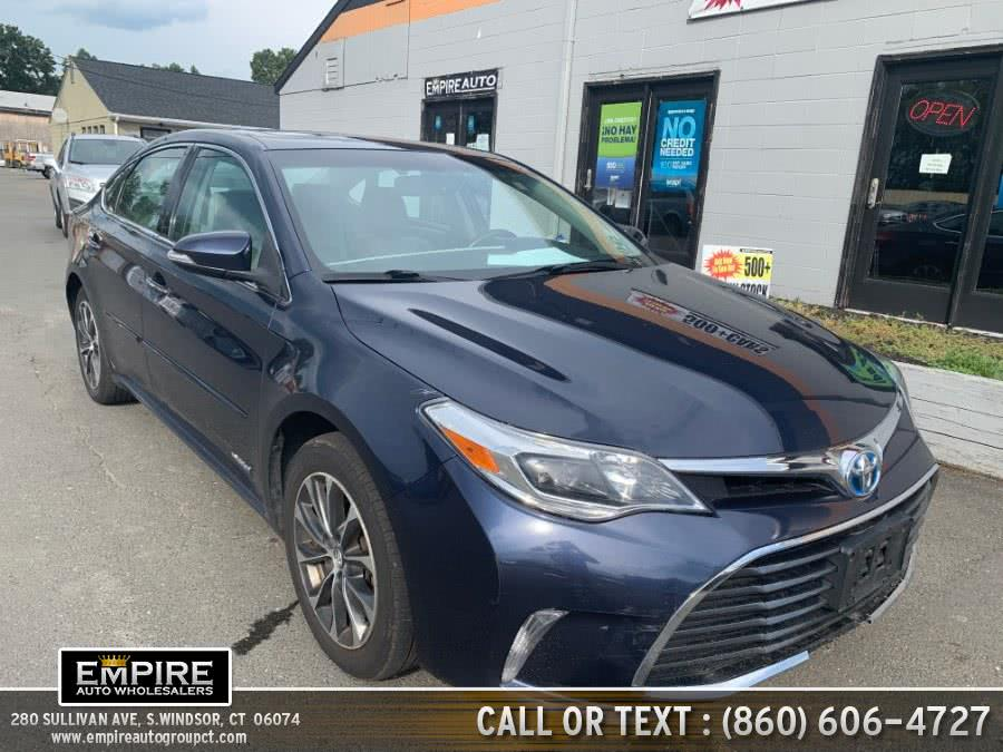 Used 2016 Toyota Avalon Hybrid in S.Windsor, Connecticut | Empire Auto Wholesalers. S.Windsor, Connecticut