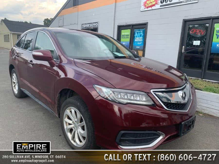 Used 2017 Acura RDX in S.Windsor, Connecticut | Empire Auto Wholesalers. S.Windsor, Connecticut