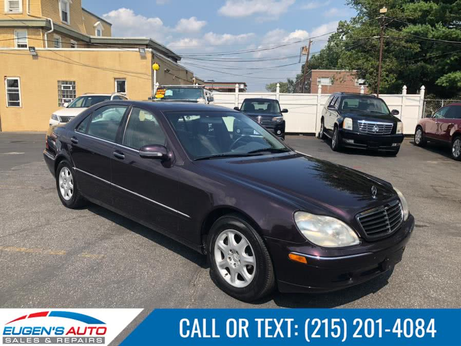 Used 2000 Mercedes-Benz S-Class in Philadelphia, Pennsylvania | Eugen's Auto Sales & Repairs. Philadelphia, Pennsylvania