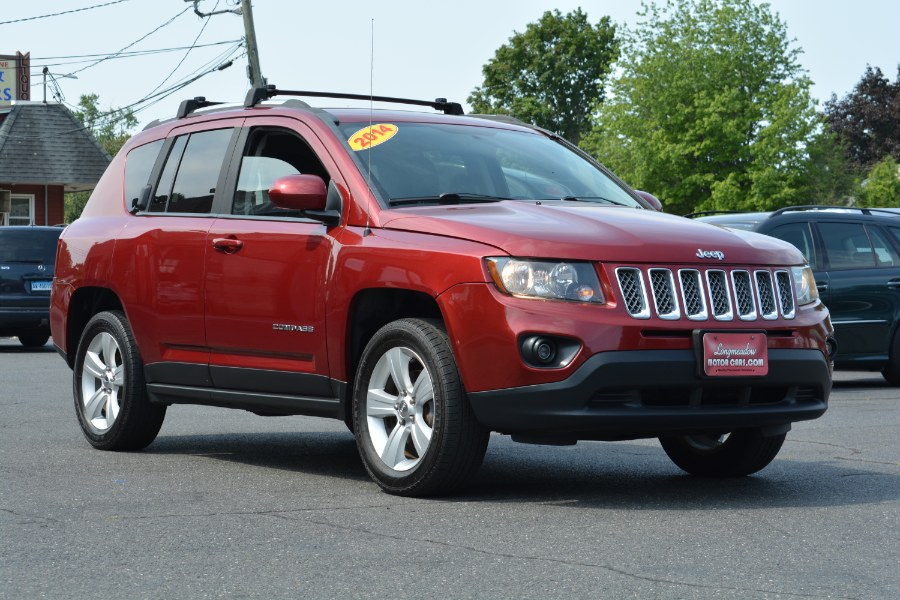 Used Jeep Compass 4WD 4dr Latitude 2014 | Longmeadow Motor Cars. ENFIELD, Connecticut