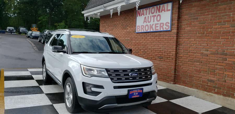 Used 2016 Ford Explorer in Waterbury, Connecticut | National Auto Brokers, Inc.. Waterbury, Connecticut