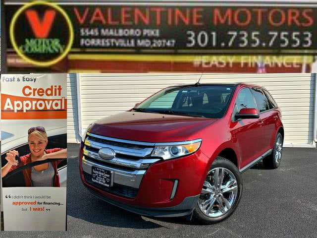 Used Ford Edge SEL 2013 | Valentine Motor Company. Forestville, Maryland
