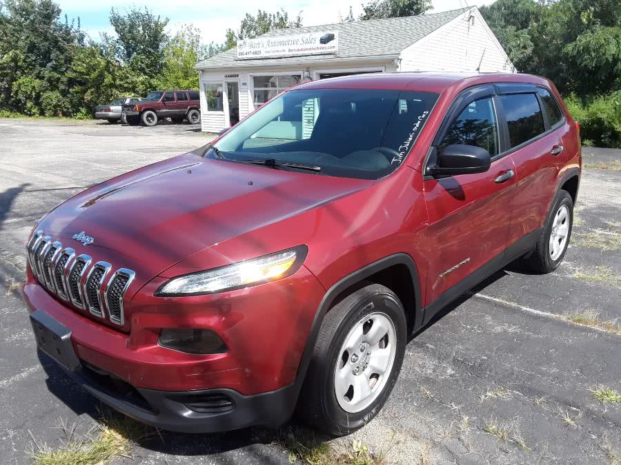 Used 2017 Jeep Cherokee in Watertown, Connecticut | Bart's Automotive Sales. Watertown, Connecticut