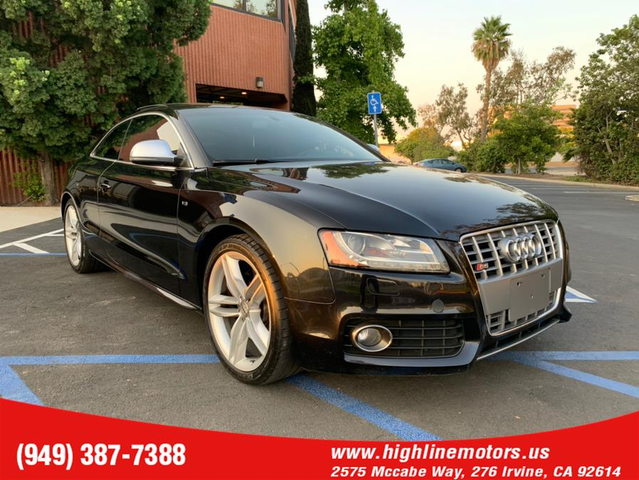 Used Audi S5 2dr Cpe Man 2009 | High Line Motors LLC. Irvine, California