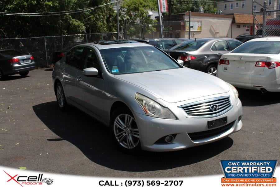 Used 2013 Infiniti G37 Sedan AWD in Paterson, New Jersey | Xcell Motors LLC. Paterson, New Jersey