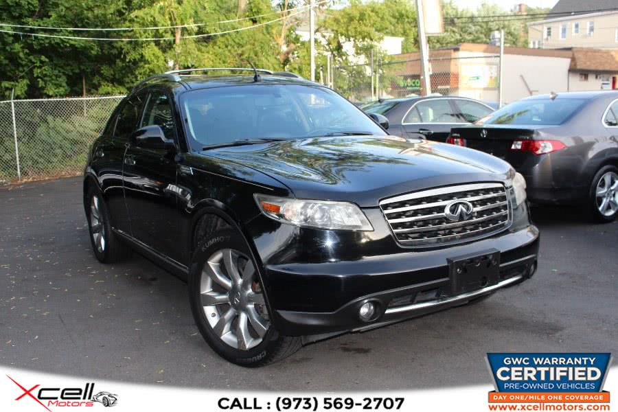Used 2008 Infiniti FX35 AWD in Paterson, New Jersey | Xcell Motors LLC. Paterson, New Jersey