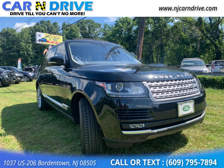 Used Land Rover Range Rover Supercharged LWB 2017 | Car N Drive. Bordentown, New Jersey