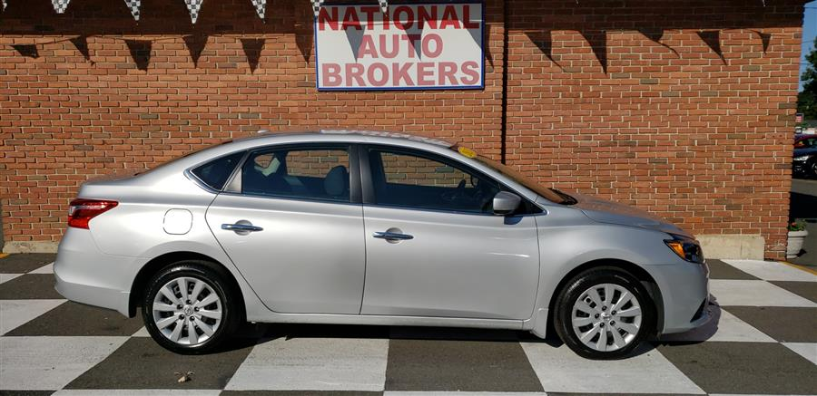 Used Nissan Sentra SV 2017 | National Auto Brokers, Inc.. Waterbury, Connecticut