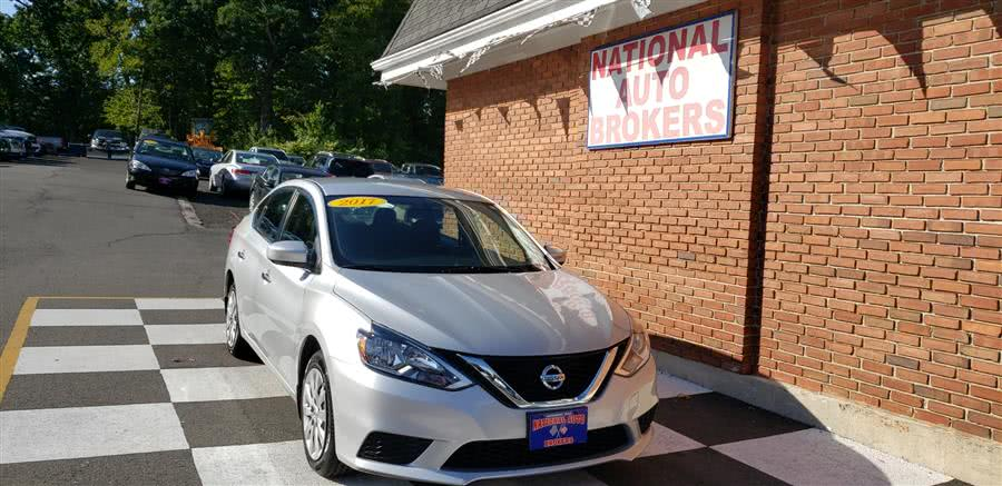 Used 2017 Nissan Sentra in Waterbury, Connecticut | National Auto Brokers, Inc.. Waterbury, Connecticut