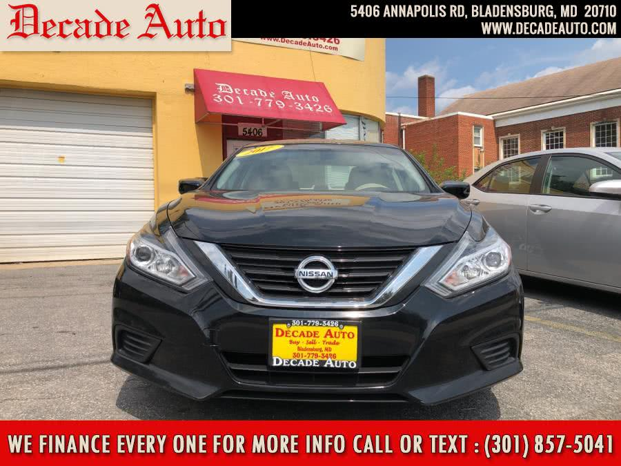 Used 2017 Nissan Altima in Bladensburg, Maryland | Decade Auto. Bladensburg, Maryland