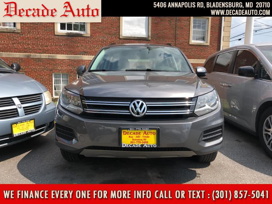 Used Volkswagen Tiguan 2WD 4dr Auto SE 2015 | Decade Auto. Bladensburg, Maryland