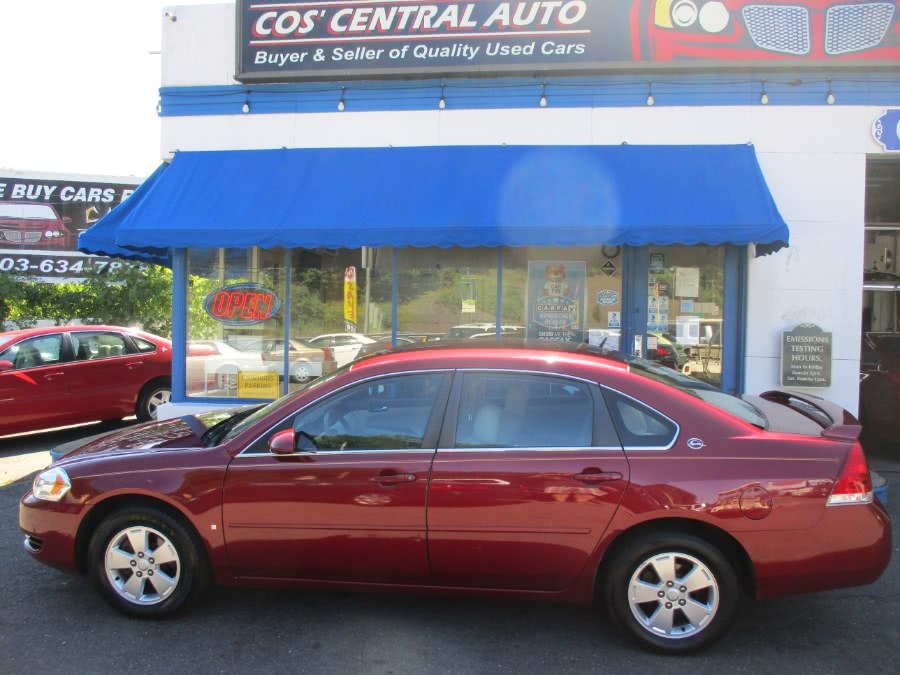 Used Chevrolet Impala 4dr Sdn 3.5L LT 2008 | Cos Central Auto. Meriden, Connecticut