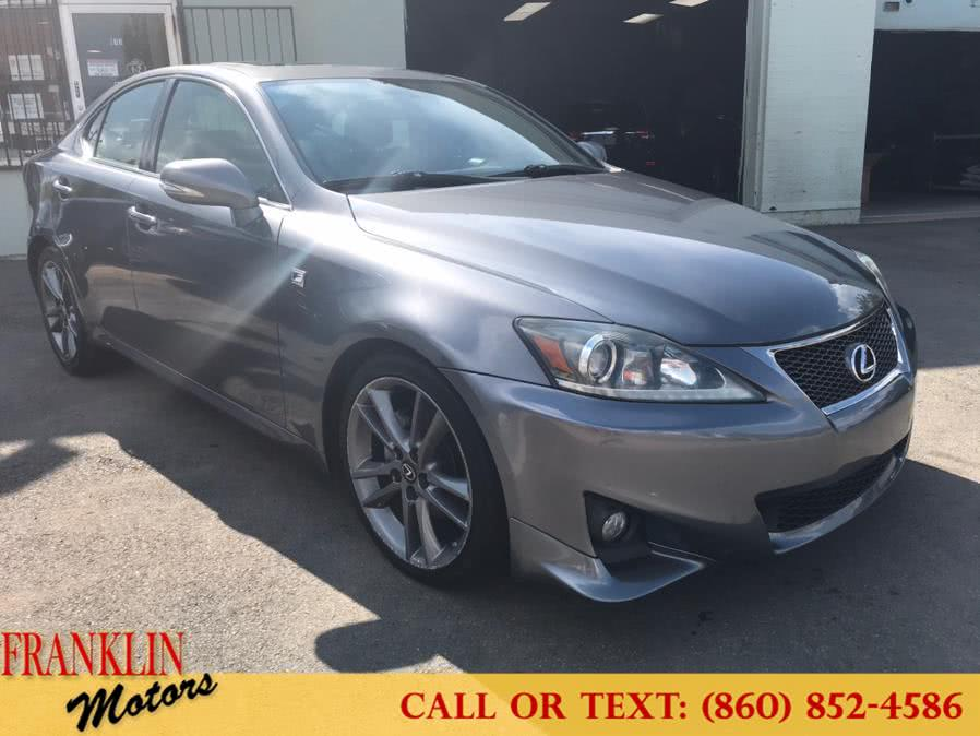 Used 2012 Lexus IS 250 in Hartford, Connecticut | Franklin Motors Auto Sales LLC. Hartford, Connecticut