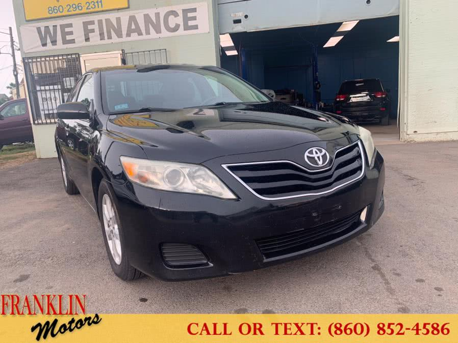 Used Toyota Camry 4dr Sdn I4 Auto LE (Natl) 2011 | Franklin Motors Auto Sales LLC. Hartford, Connecticut