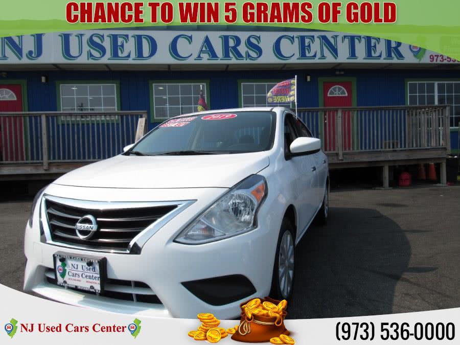 Used 2019 Nissan Versa Sedan in Irvington, New Jersey | NJ Used Cars Center. Irvington, New Jersey