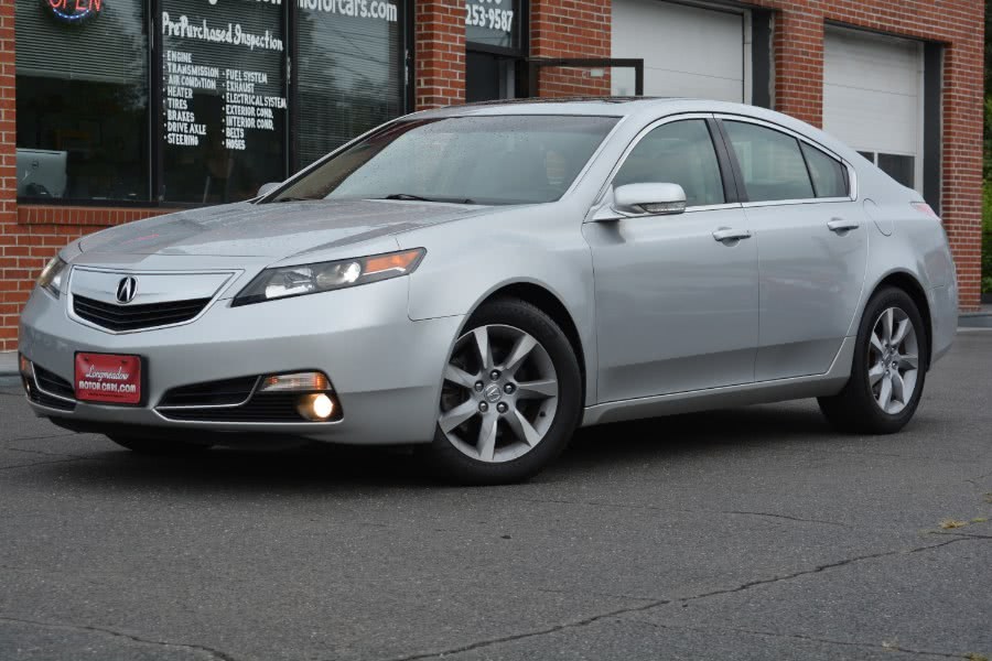 2012 Acura TL 4dr Sdn Auto 2WD, available for sale in ENFIELD, CT