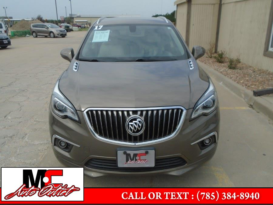 Used Buick Envision FWD 4dr Essence 2017 | M C Auto Outlet Inc. Colby, Kansas