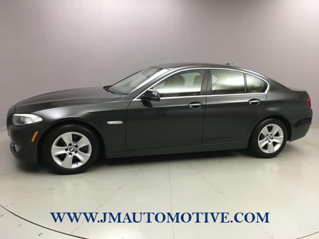 Used 2013 BMW 5 Series in Naugatuck, Connecticut | J&M Automotive Sls&Svc LLC. Naugatuck, Connecticut