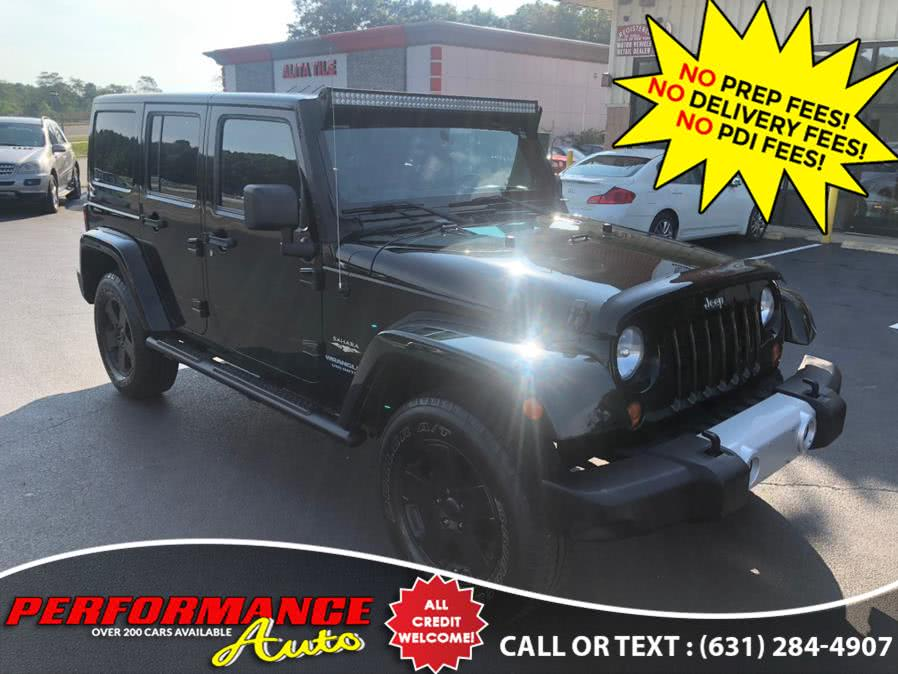 Used Jeep Wrangler Unlimited 4WD 4dr Sahara 2012 | Performance Auto Inc. Bohemia, New York