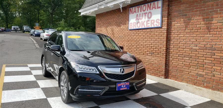 Used Acura MDX SH-AWD 4dr Tech Pkg 2014 | National Auto Brokers, Inc.. Waterbury, Connecticut