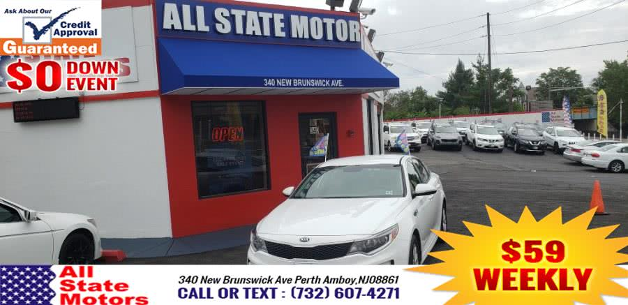 Used Kia Optima LX Auto 2018 | All State Motor Inc. Perth Amboy, New Jersey