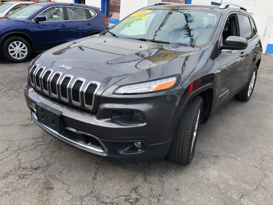 Used Jeep Cherokee 4WD 4dr Limited 2016 | Affordable Motors Inc. Bridgeport, Connecticut