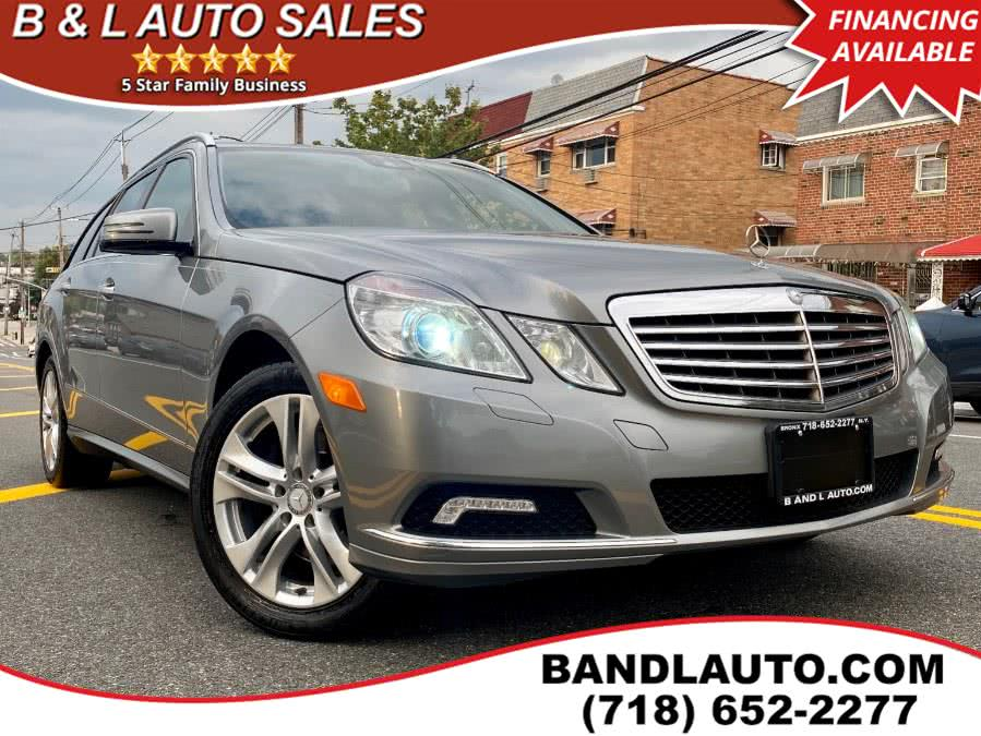 Used 2011 Mercedes-Benz E-Class in Bronx, New York | B & L Auto Sales LLC. Bronx, New York