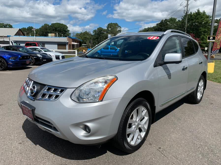 Used Nissan Rogue AWD 4dr SV 2012 | Mike And Tony Auto Sales, Inc. South Windsor, Connecticut