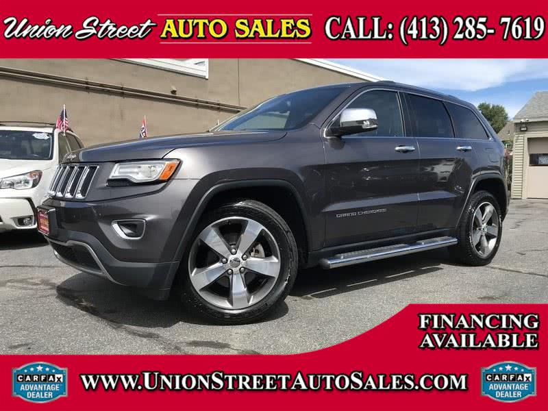 Used Jeep Grand Cherokee 4WD 4dr Limited 2015   Union Street Auto Sales. West Springfield, Massachusetts