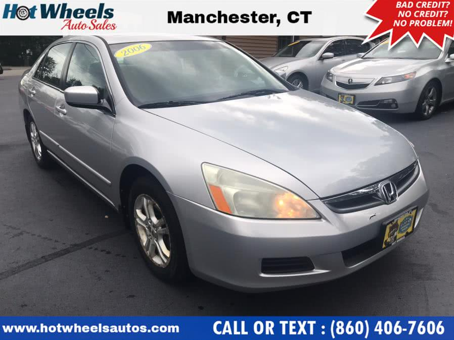 Used 2006 Honda Accord Sdn in Manchester, Connecticut | Hot Wheels Auto Sales LLC. Manchester, Connecticut